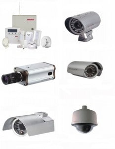 Instalación de cámaras de seguridad.