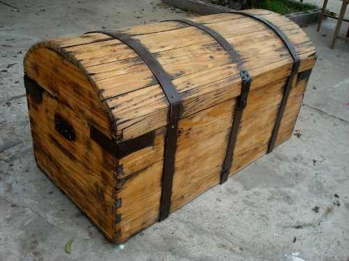 Baúl de cedro