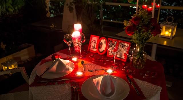 Cena Romantica En Casa Receta Para Una Noche Inolvidable - Cena-romantica-decoracion